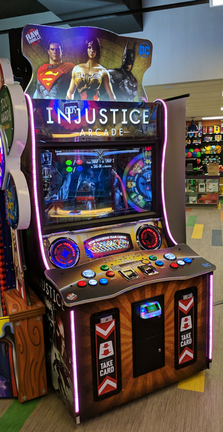Injustice Arcade Game