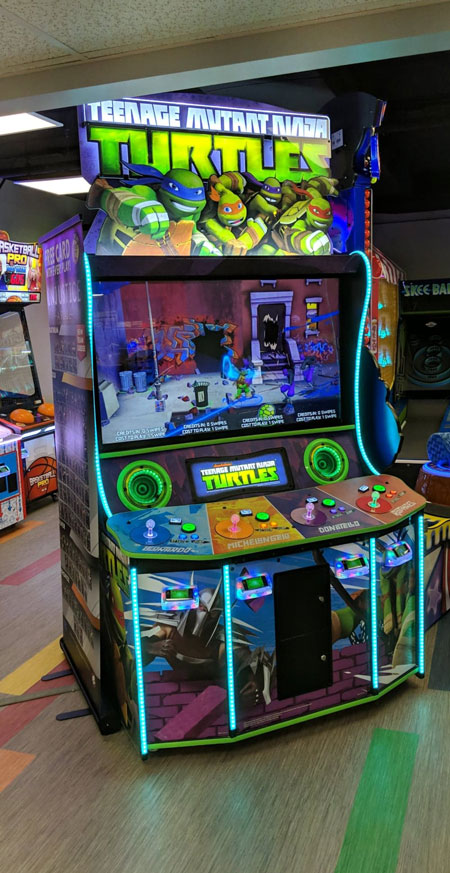 Teenage mutant ninja turtles arcade game