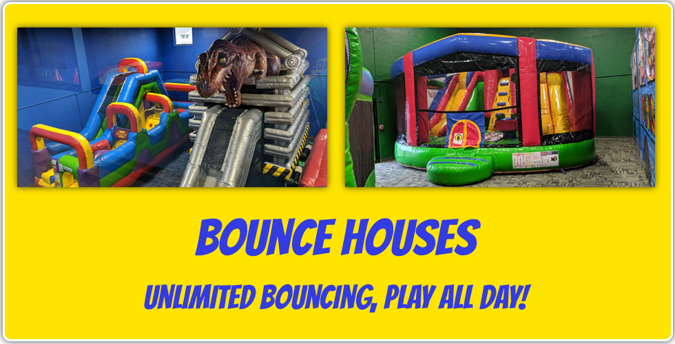 bounce houses unlimited bouncing play all day