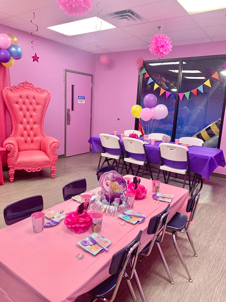 Bouncyland child birthday party package