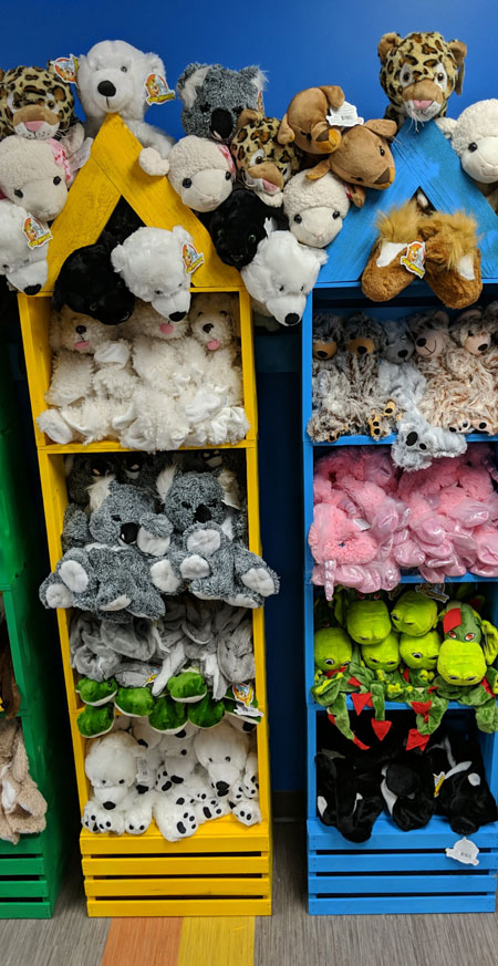 my plushy pals build your own stuffed animal
