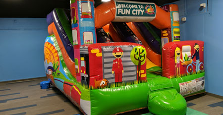 toddler zone bounce house inflatable slide