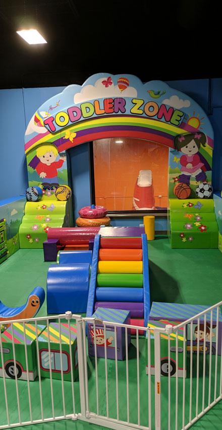 toddler zone play room