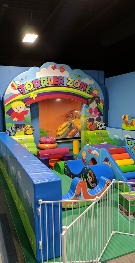 toddler zone play area